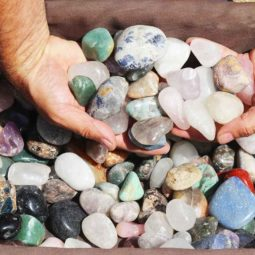 10kg Mixed Gemstones Tumbled Polished | Himalayan Salt Factory