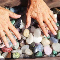 10kg Mixed Gemstones Tumbled Polished   Himalayan Salt Factory