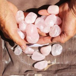 1kg Rose Quartz 3aa Tumbled Polished | Himalayan Salt Factory
