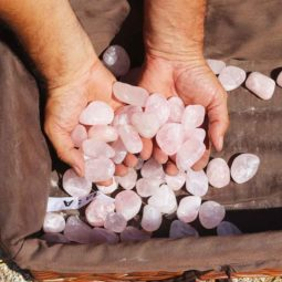 2.5kg Rose Quartz 3aa Tumbled Polished | Himalayan Salt Factory