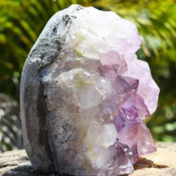 2.75kg Natural Amethyst Lamp [CRY419] | Himalayan Salt Factory
