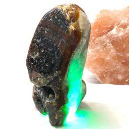 3.30kg Agate Crystal Lamp [CRY505] | Himalayan Salt Factory