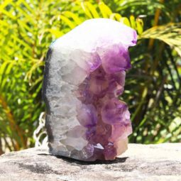 3.30kg Natural Amethyst Lamp [CRY411] | Himalayan Salt Factory