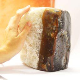 3.45kg Agate Crystal Lamp [CRY604] 5 | Himalayan Salt Factory