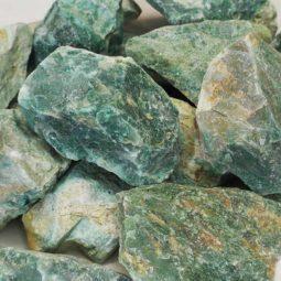 5kg Green Quartz Rough Parcel | Himalayan Salt Factory
