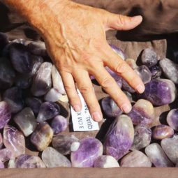 5kg Large Amethyst Gemstones Tumbled Polished | Himalayan Salt Factory