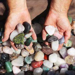 5kg Mixed Gemstones Tumbled Polished | Himalayan Salt Factory