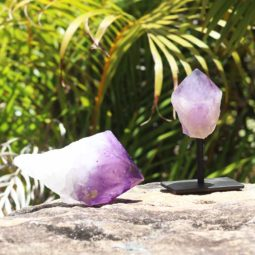 Amethyst Sculptures Terminated Point – 2 Units [MIX03] | Himalayan Salt Factory