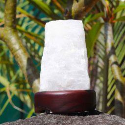 Clear Quartz Crystal Lamp | Himalayan Salt Factory