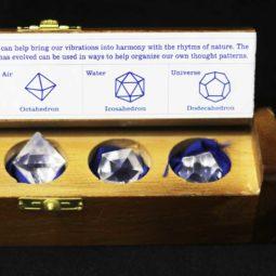 Gemstone Geometric Clear Quartz Box | Himalayan Salt Factory