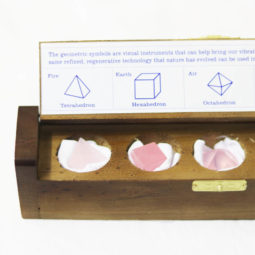 Gemstone Geometric Rose Quartz Box | Himalayan Salt Factory
