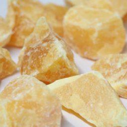 1.5 kilo Calcite Orange Rough CF 252   Himalayan Salt Factory