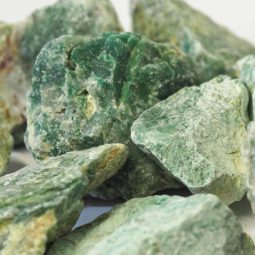 2 kilo Green Quartz Rough CF 259   Himalayan Salt Factory