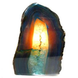Agate Crystal Lamp S134 | Himalayan Salt Factory
