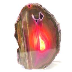Agate Crystal Lamp S137 | Himalayan Salt Factory