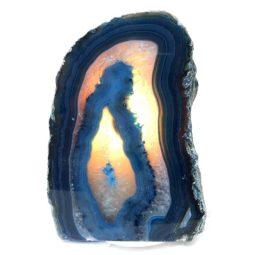 Agate Crystal Lamp S141 | Himalayan Salt Factory
