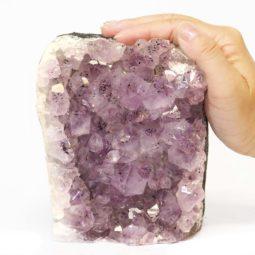 Amethyst Crystal Lamp S107-1   Himalayan Salt Factory
