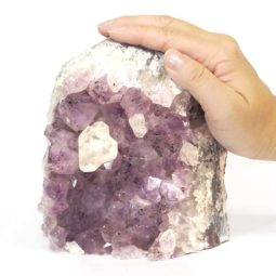 Amethyst Crystal Lamp S110 | Himalayan Salt Factory