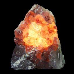 Amethyst Crystal Lamp S46 | Himalayan Salt Factory
