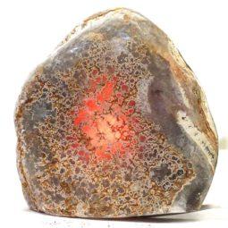 Fire Agate Lamp S170 | Himalayan Salt Factory