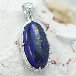 Lapis Lazuli Pendant CF 459 | Himalayan Salt Factory
