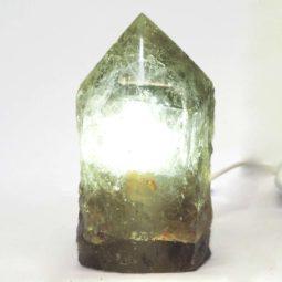 Smoky Quartz Lamp S90 | Himalayan Salt Factory