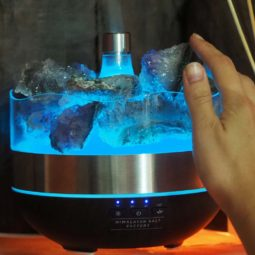 Treasures Amethyst Diffuser/Humidifier - Geodes Stones | Himalayan Salt Factory