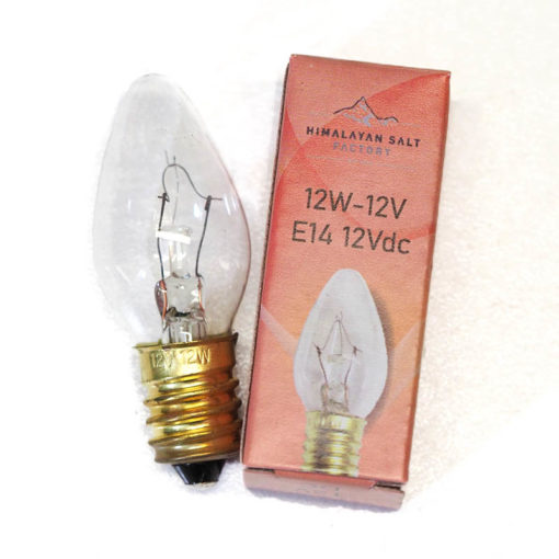 12v-12w bulb   Himalayan Salt Factory
