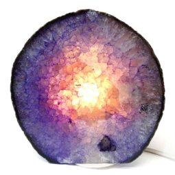 Agate Crystal Lamp S204-2 | Himalayan Salt Factory