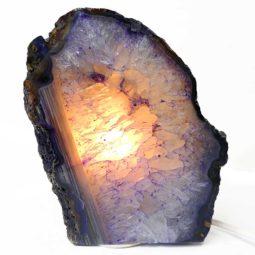 Agate Crystal Lamp S205-1 | Himalayan Salt Factory