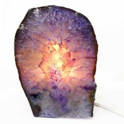 Agate Crystal Lamp S206-2 | Himalayan Salt Factory