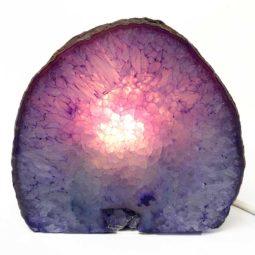 Agate Crystal Lamp S207-2 | Himalayan Salt Factory