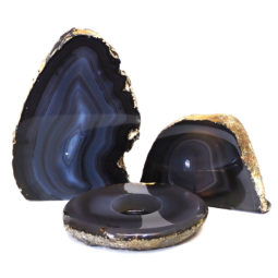 Agate Lamp Set S226 | Himalayan Salt Factory