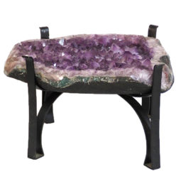 Amethyst Crystal Coffee Table DS147-2 | Himalayan Salt Factory