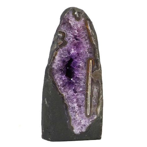 Amethyst Crystal Geode Specimen DS111-1 | Himalayan Salt Factory