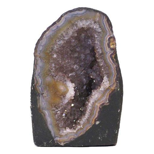 Amethyst Crystal Geode Specimen DS116-1 | Himalayan Salt Factory