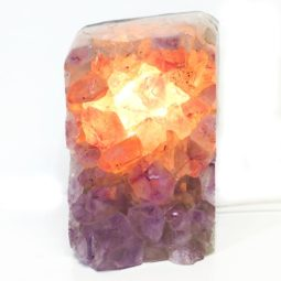 Amethyst Crystal Lamp DS1 | Himalayan Salt Factory