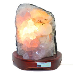 Amethyst Crystal Lamp DS19-2 | Himalayan Salt Factory