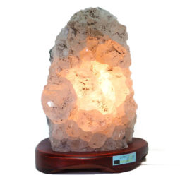 Amethyst Crystal Lamp DS23-1 | Himalayan Salt Factory