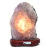 Amethyst Crystal Lamp DS28-1   Himalayan Salt Factory