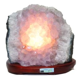 Amethyst Crystal Lamp DS29-1 | Himalayan Salt Factory