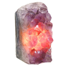 Amethyst Crystal Lamp DS3-2 | Himalayan Salt Factory