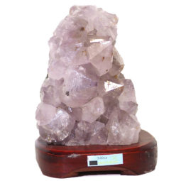 Amethyst Crystal Lamp DS36 | Himalayan Salt Factory