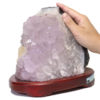 Amethyst Crystal Lamp DS37-1   Himalayan Salt Factory