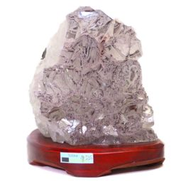 Amethyst Crystal Lamp DS38 | Himalayan Salt Factory