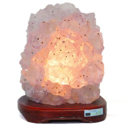 Amethyst Crystal Lamp DS45 | Himalayan Salt Factory