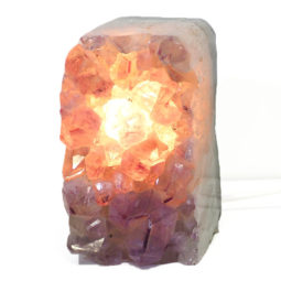 Amethyst Crystal Lamp DS5-2 | Himalayan Salt Factory
