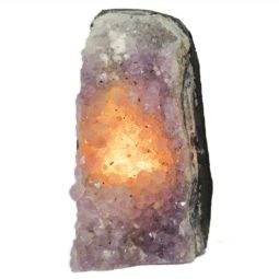 Amethyst Crystal Lamp S198 | Himalayan Salt Factory