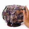 Amethyst Crystal Rock Freedom Amore Lamp | Himalayan Salt Factory