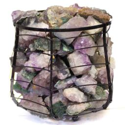 Amethyst Geodes Stone Capsule Lamp | Himalayan Salt Factory